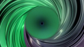Animation of colorful abctract tunnel. Motion animation inside a colored tube.  stock footage
