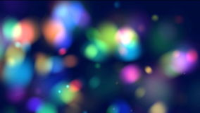 Animation of colorful circles stock footage