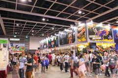 Animation, Comics & Games Expo Hong Kong 2013 Royalty Free Stock Photos