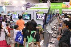 Animation, Comics & Games Expo Hong Kong 2013 Royalty Free Stock Photo