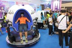 Animation, Comics & Games Expo Hong Kong 2015. ACGHK is the most popular summer carnival in Hong Kong, it is packed with the animation, comics, games, toys Royalty Free Stock Photo