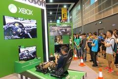 Animation, Comics & Games Expo Hong Kong 2015 Stock Images