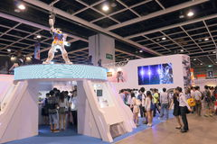 Animation, Comics & Games Expo Hong Kong 2015 Royalty Free Stock Image