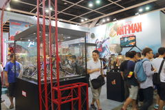 Animation, Comics & Games Expo Hong Kong 2015 Royalty Free Stock Photos