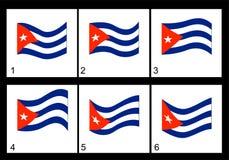 Animation Cuban Flag Royalty Free Stock Photos