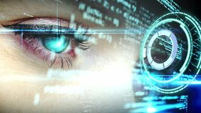 Data processing and human eye