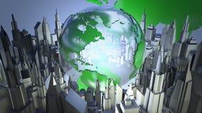 Animation de boucle du monde d'émission clips vidéos
