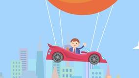 Animation de concept de Bitcoin banque de vidéos