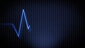 Animation de fréquence cardiaque illustration libre de droits