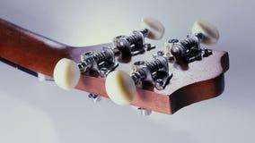 Animation de guitare bout droit de ficelles Tuners de guitare ukulele banque de vidéos