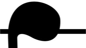 Animation de la musique de écoute de femmes élégantes banque de vidéos