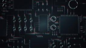 Animation des Motherboards