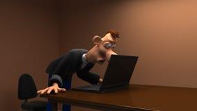 Animation drôle illustration libre de droits
