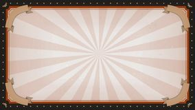 Circus carnival frame background rotation