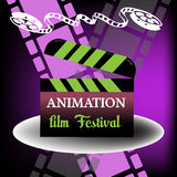 Animation film festival Royalty Free Stock Photography