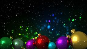 Glitter and Christmas decorations