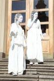 Animation historique d'acteurs du château mikhailovsky (d'ingénierie) Image libre de droits