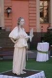 Animation historique d'acteurs du château mikhailovsky (d'ingénierie) Photos stock