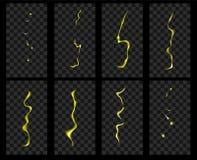 Animation of lightning. Royalty Free Stock Photo