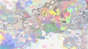 Animation liquide olographe sans couture de fond clips vidéos