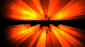 Animation lumineuse d'éclat banque de vidéos