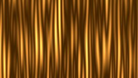 Animation of moving undulating gradient bands. Animation of moving undulating yellow gradient bands computer renderer 4k with the possibility of infinite looping stock illustration