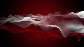 Animation puissante avec l'objet de vague dans le mouvement lent, 4096x2304 boucle 4K clips vidéos