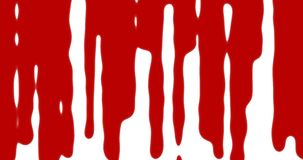 Red blood transition pattern background.