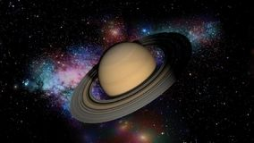 Animation Saturn stock footage