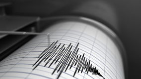 Animation of Seismograph