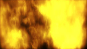 Animation showing fire stock video footage