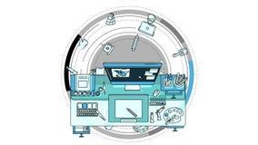 Illustrator Promo Animation on the Alpha Channel
