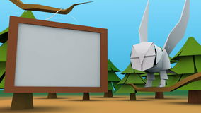 Animation of TV wall with owl fly in. Animation of TV wall with owl fly in as background stock video