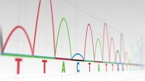 Animation von Diagrammen und von Statistiken stock abbildung
