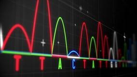 Animation von Diagrammen und von Statistiken vektor abbildung