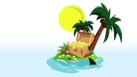 Animation von Insel