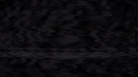 Animations-Pixel-Störschub-Hintergrund Antennen-Problem-im Fernsehen Schirm-Digital-Geräusch-4K Technologie-Fehler-Zusammenfassun stock abbildung