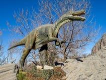 Animatronic экспонат динозавров Стоковая Фотография RF