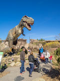 Animatronic Dinosaurs exhibit Royalty Free Stock Photos