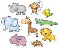 animaux africains illustration libre de droits