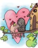 Animaux dans l'amour Photos libres de droits