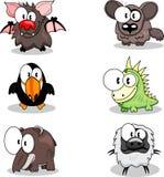 Animaux de dessin animé Image libre de droits