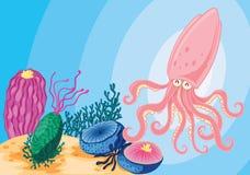 Animaux de mer Image stock