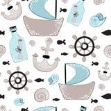 Animaux de mer de vecteur illustration libre de droits