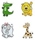 Animaux de safari Image libre de droits