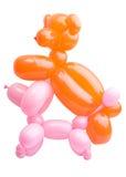 animaux familiers de ballons tordus Images stock