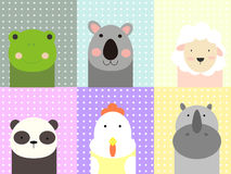 Animaux mignons Images stock
