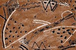 Animaux primitifs deux illustration de vecteur