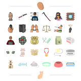 Animaux, protection, affaires et toute autre icône de Web Photos stock