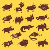 animaux sauvages Illustration Libre de Droits